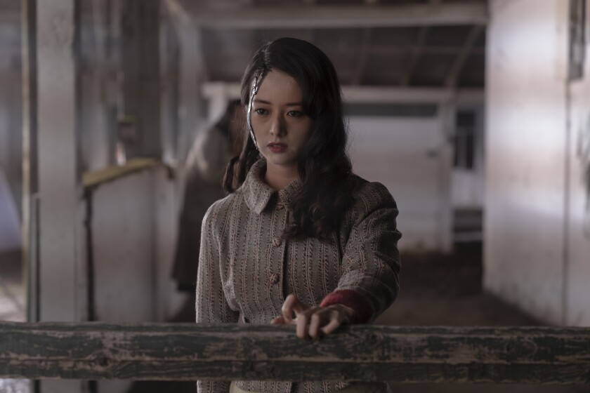 "Kiki Sukezane as Yuko in ""The Terror: Infamy"" on AMC."