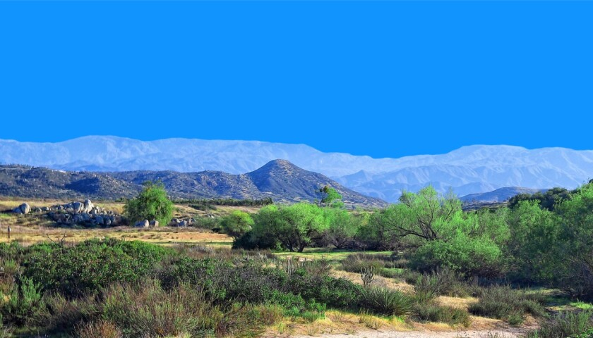 The 2,000-acre ranch includes a three-bedroom home, a barn and three wells.