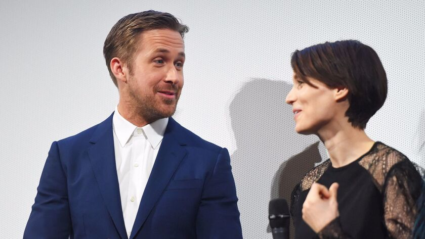 """Ryan Gosling and Rooney Mara appear at the """"Song to Song"""" premiere during the 2017 South by Southwest Film Festival."""
