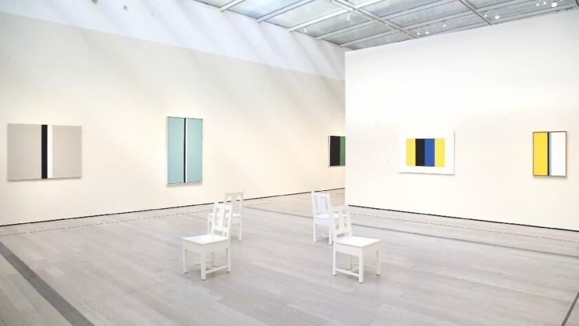 """John McLaughlin Paintings: Total Abstraction"" at LACMA"