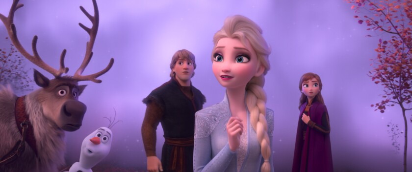 singing elsa frozen 2