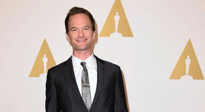 Neil Patrick Harris arrives at the 87th Academy Awards nominees luncheon at the Beverly Hilton Hotel on Feb. 2, 2015.