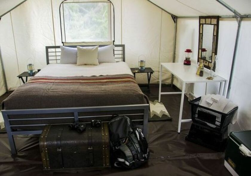 Washington: Glamping on the San Juan Islands - Los Angeles Times