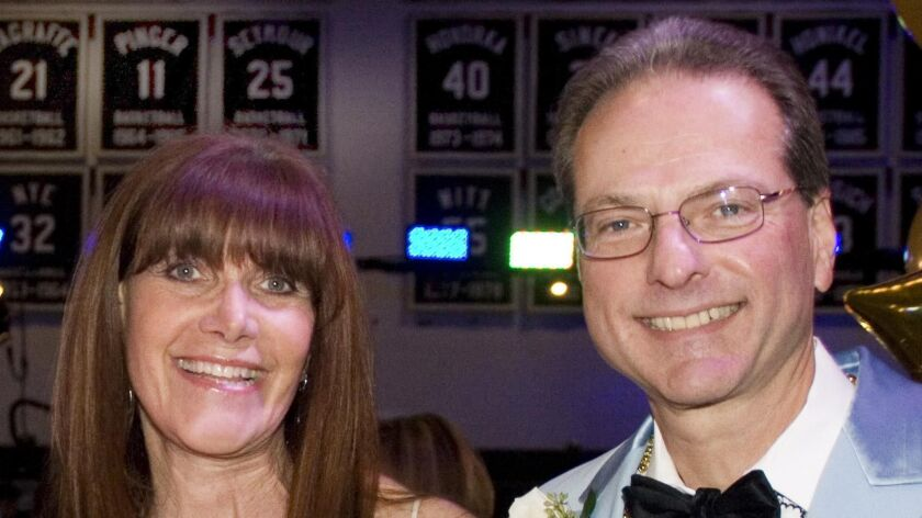 Before Monday's announcement of their $200-million gift, Susan and Henry Samueli, pictured in 2013,