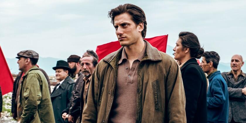"Luca Marinelli in ""Martin Eden."""