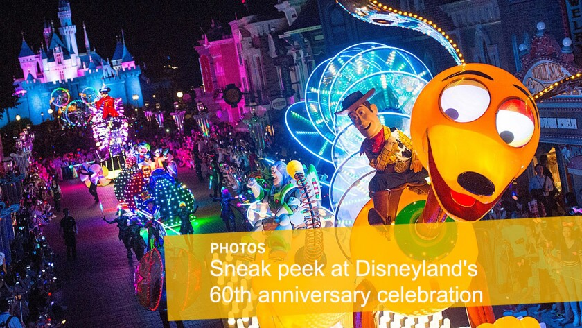 Disneyland is celebrating its 60th anniversary. Here's a hink at what's planned at the park:
