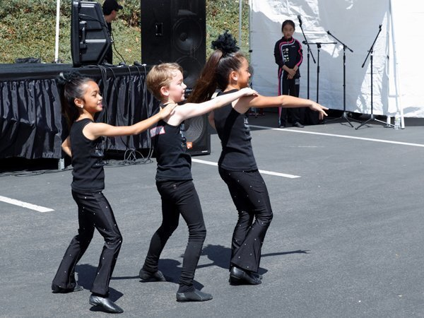 "Students from ""Love to Dance"" perform at the Super Dentists Spring Fair"