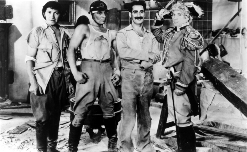 "The Marx Brothers in ""Duck Soup"""