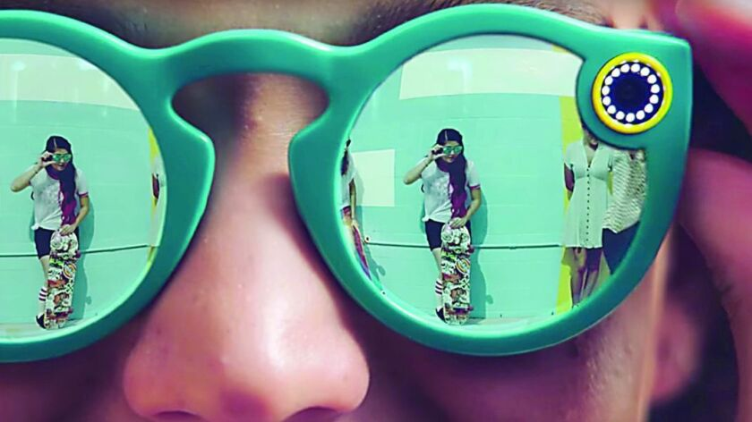 Snap, Inc. has introduced Spectacles, sunglasses that can record 10-second videos and send them to Snapchat