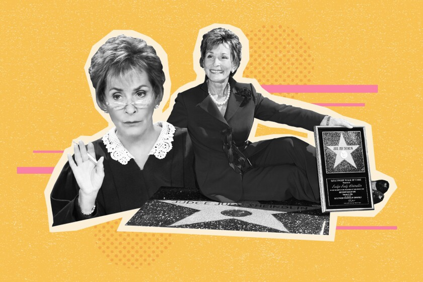 """The final episode of """"Judge Judy"""" that star Judith Sheindlin ever taped airs Tuesday on CBS."""