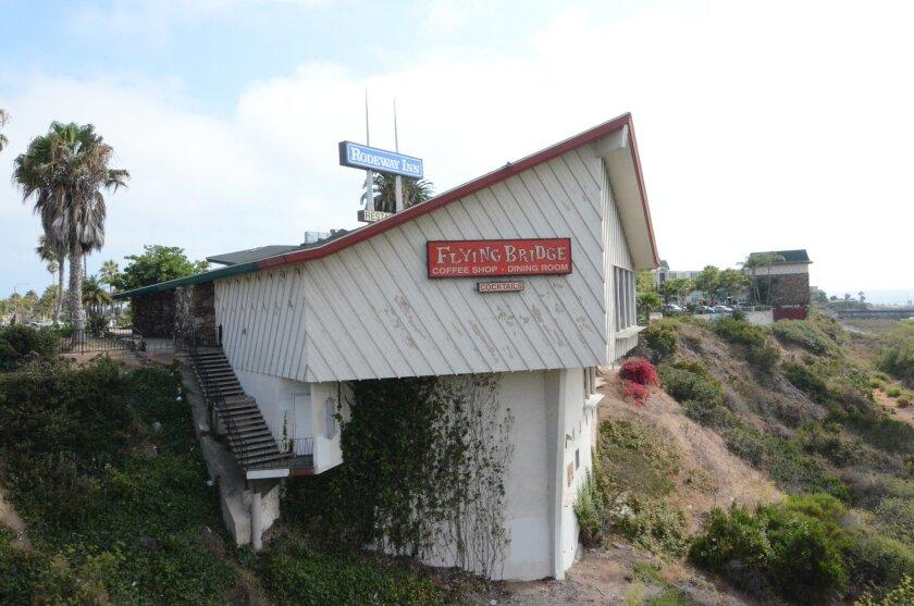 Oceanside landmark Flying Bridge restaurant closed in 2008.