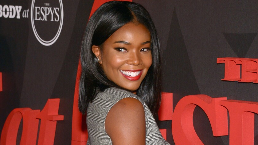 "Gabrielle Union attends the BODY At The ESPYs pre-party at Avalon Hollywood on July 12. Union penned an op-ed that was published Friday in The Times on the controversy involving ""The Birth of a Nation"" director Nate Parker's 2001 rape trial."