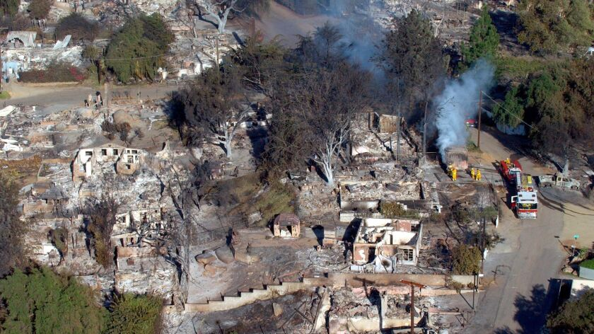 Crest, east of El Cajon, was hit hard by the Cedar Fire in 2003.