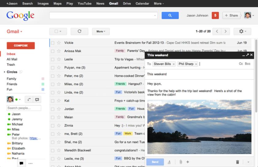 Google's decision to change Gmail 'compose' feature sparks complaints