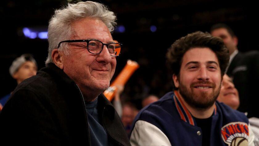 Dustin Hoffman and Jacob Hoffman