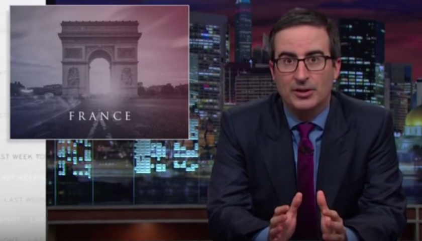John Oliver on Paris attacks
