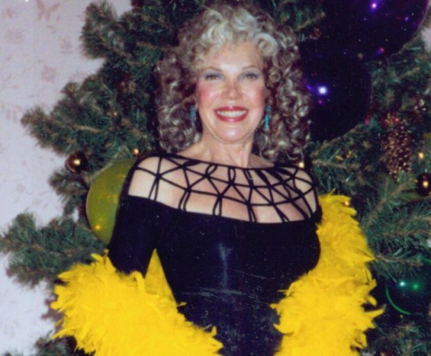 Marion Caster Baker on New Year's Eve 1993.