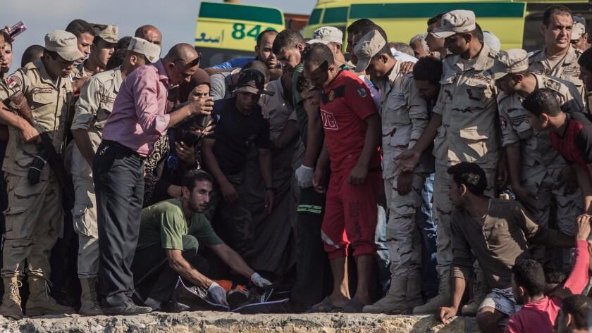 Boat capsizes off Egyptian coast