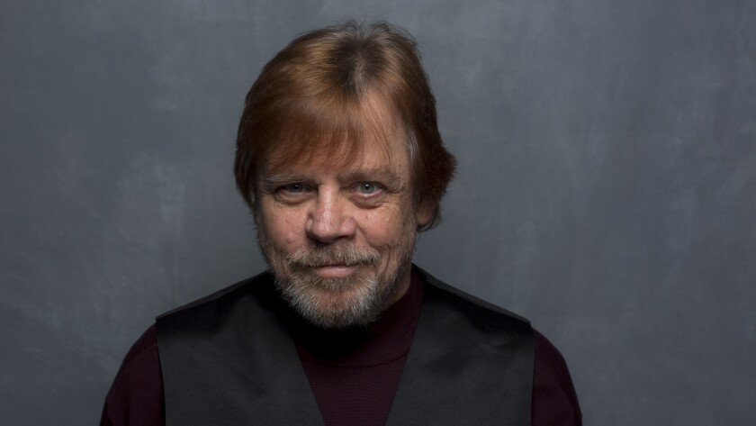 """Mark Hamill, seen during the Sundance festival, was an actor the """"Brigsby Bear"""" filmmakers hadn't in"""