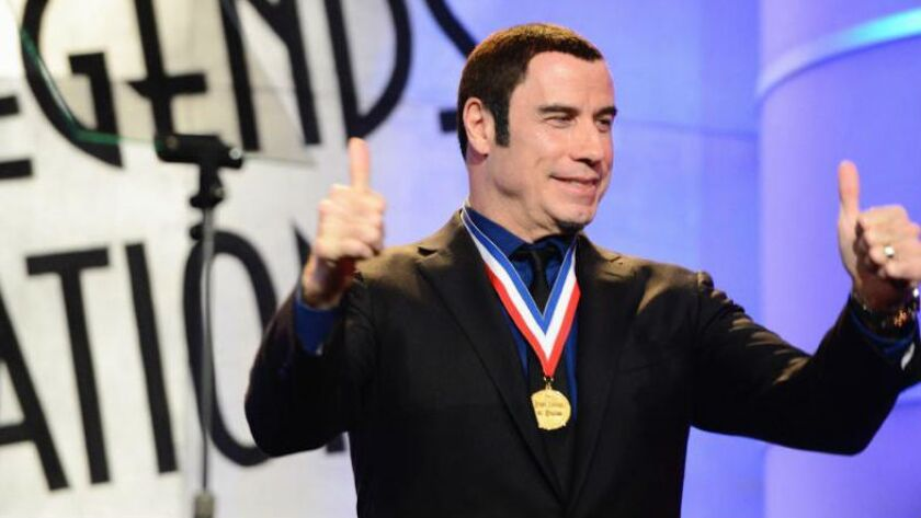 John Travolta is to host the Living Legends of Aviation Awards in Beverly Hills on Jan. 16. Travolta is a pilot and the award show's ambassador.