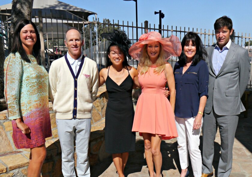 Gala Committee members: L to R)  Molly Wohlford, Billy Berger, Michelle Kim, Valerie Robbins, Linda Durket, Todd LaRocca.