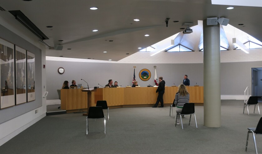 In a sparsely attended emergency meeting Friday, LCUSD Board members extended school closures through April 19, to coincide with a mandate all Californians stay at home to prevent the spread of the novel coronavirus.