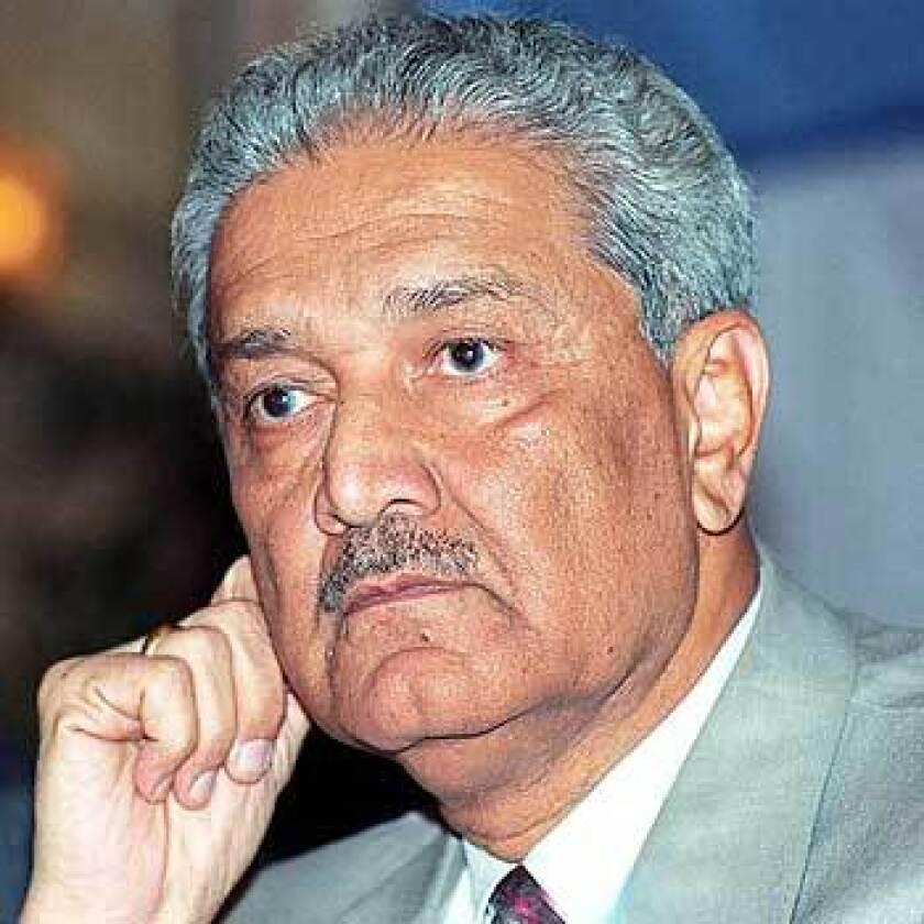 BLACK MARKET: Pakistani scientist Abdul Qadeer Khan set up a global network for nuclear technology.