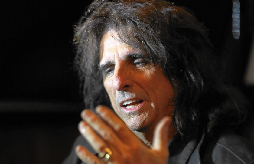Alice Cooper is a '70s survivor and original member of the all-star Vampires.