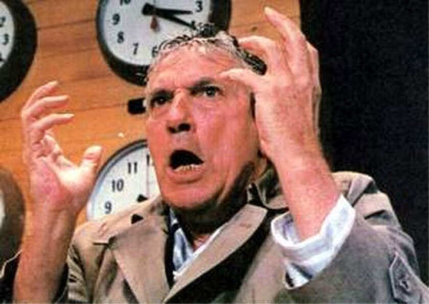 "Peter Finch in ""Network"" (1976)."