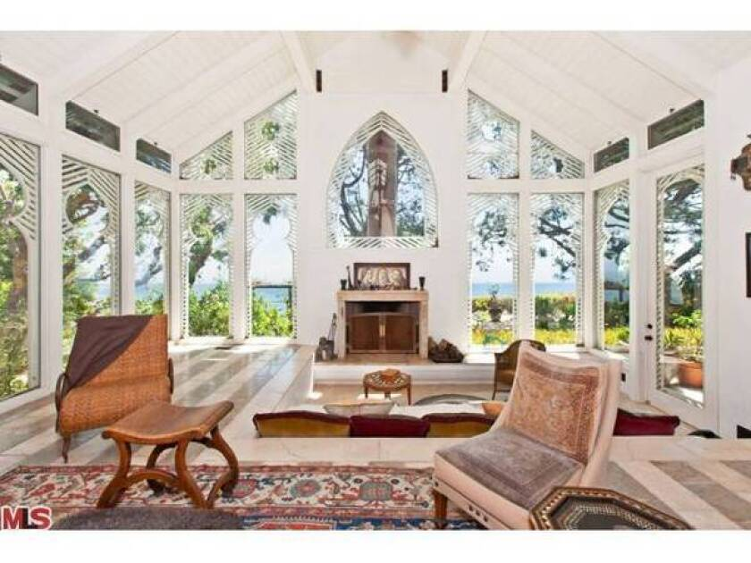 The Zen-inspired Malibu home of Melissa Mathison is listed for nearly $10 million.