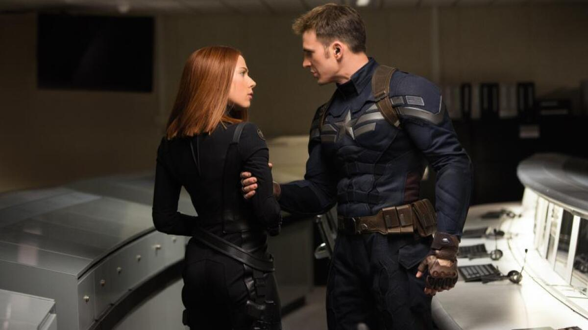 Captain America: The Winter Soldier' reviews salute action