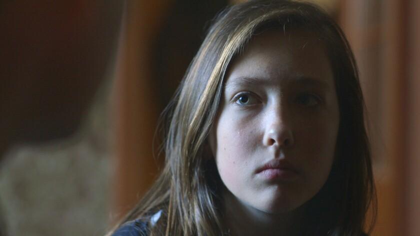 "Aleksandra Kaczanowska in a scene from ""Communion."" Credit: HBO"