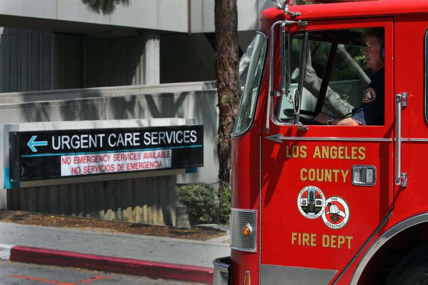 A proposed Los Angeles County parcel tax for fire protection responds more to the need for paramedics than to the proliferation of wildfires.