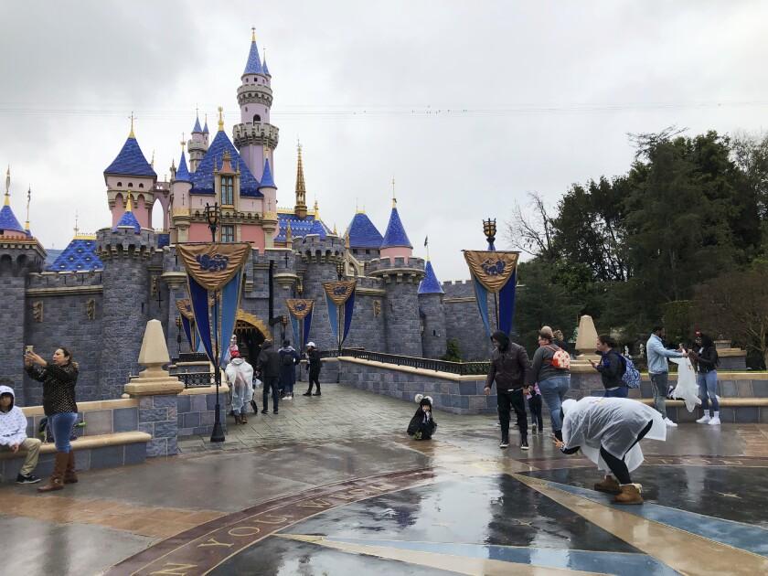 Disneyland on March 13