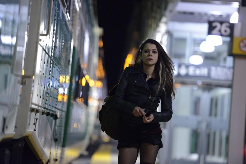 "Tatiana Maslany plays Sarah, one of seven clones, in BBC's ""Orphan Black."""