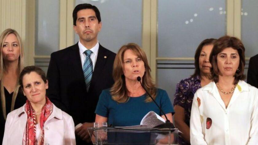 La ministra hizo el anuncio tras la conclusión de una nueva reunión del llamado Grupo de Lima, un ente multilateral conformado el año pasado para buscar una solución a la crisis que atraviesa Venezuela.