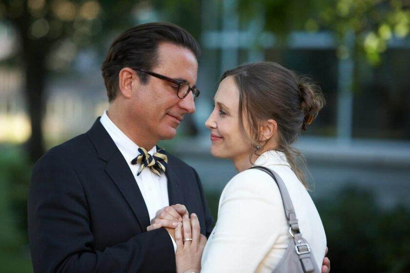 "Andy Garcia and Vera Farmiga in ""At Middleton."""