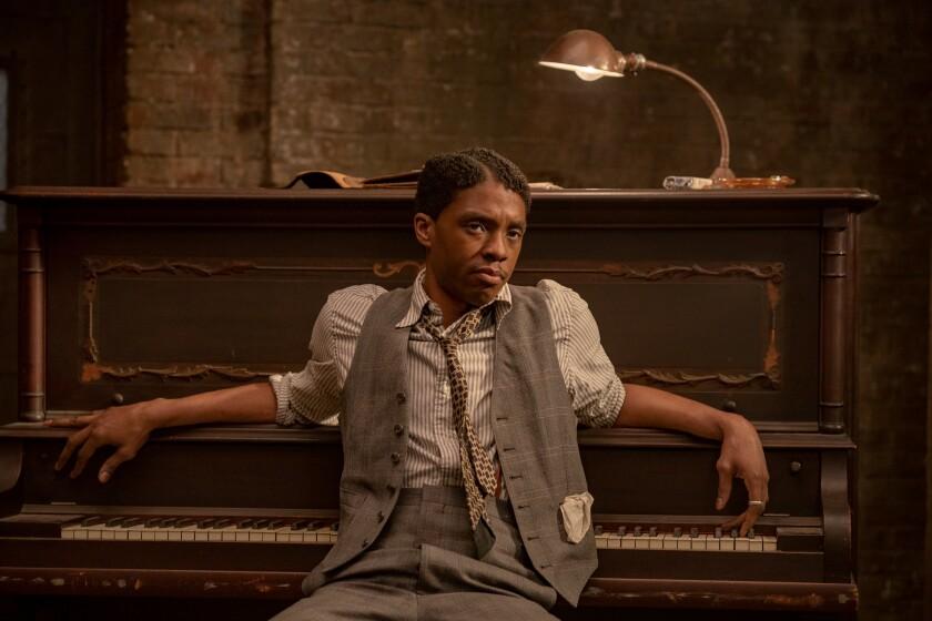Chadwick Boseman as Levee in 'Ma Rainey's Black Bottom'