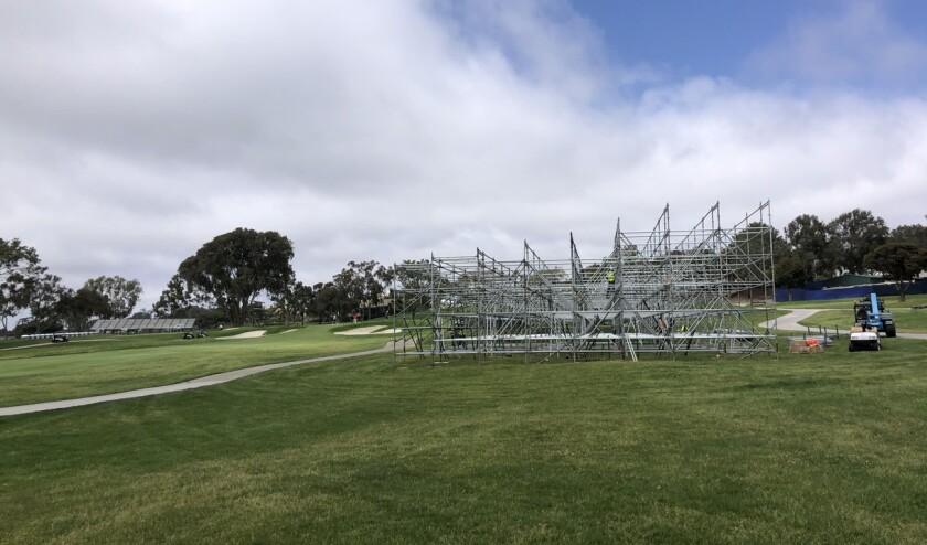 Torrey Pines Golf Course Bustles With Activity As U S Open Draws Nearer La Jolla Light