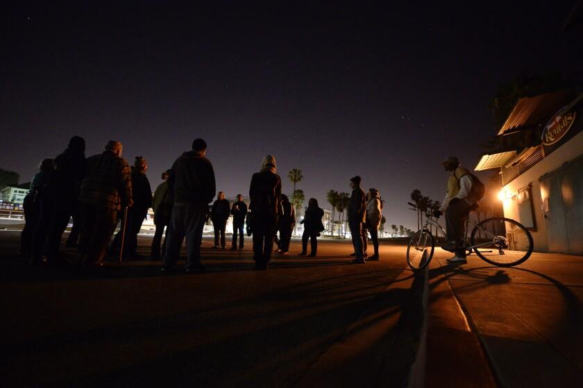 Homelessness and Venice Beach curfew