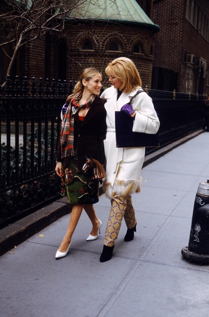 Sarah Jessica Parker and Kim Cattrall