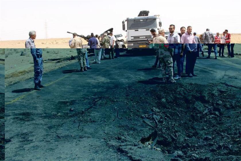 Una coalición occidental formada por EEUU, el Reino Unido, Francia, Alemania, España e Italia hizo hoy un llamado al Gobierno de unidad en Libia establecido hace un año para que acelere el restablecimiento de sus instituciones, incluidas las militares. EFE/ARCHIVO