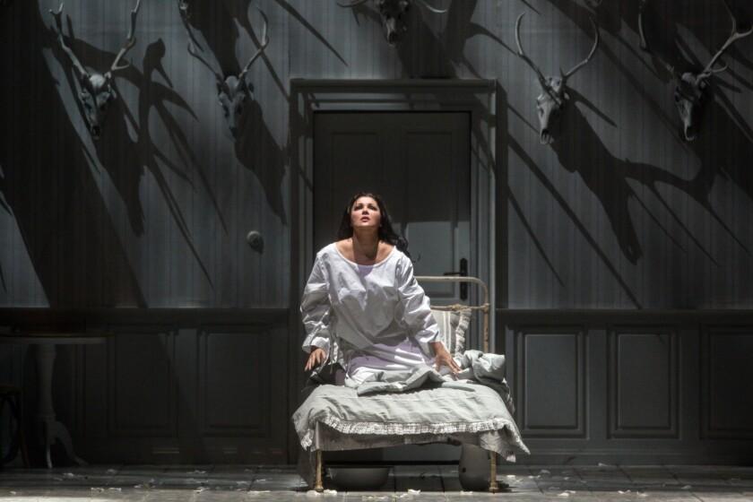 "Anna Netrebko in the title role of Tchaikovsky's ""Iolanta."""