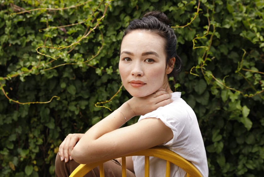 Actress-dancer Hanna-Lee Sakakibara has been without work in the pandemic. A $1,000 grant from SAG-AFTRA Foundation helped.