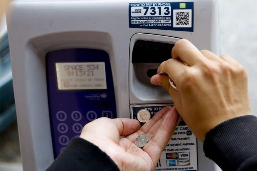 L A 's broken-parking-meter scheme may soon expire - Los