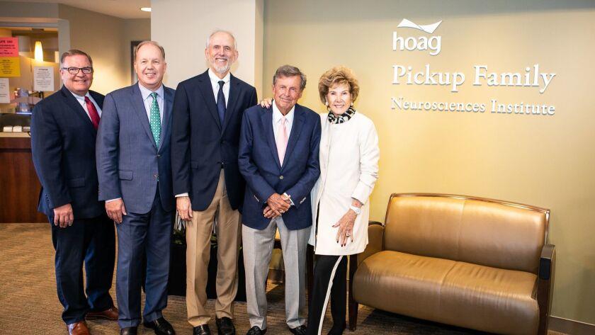 Hoag Pickup Family Neurosciences Institute Event