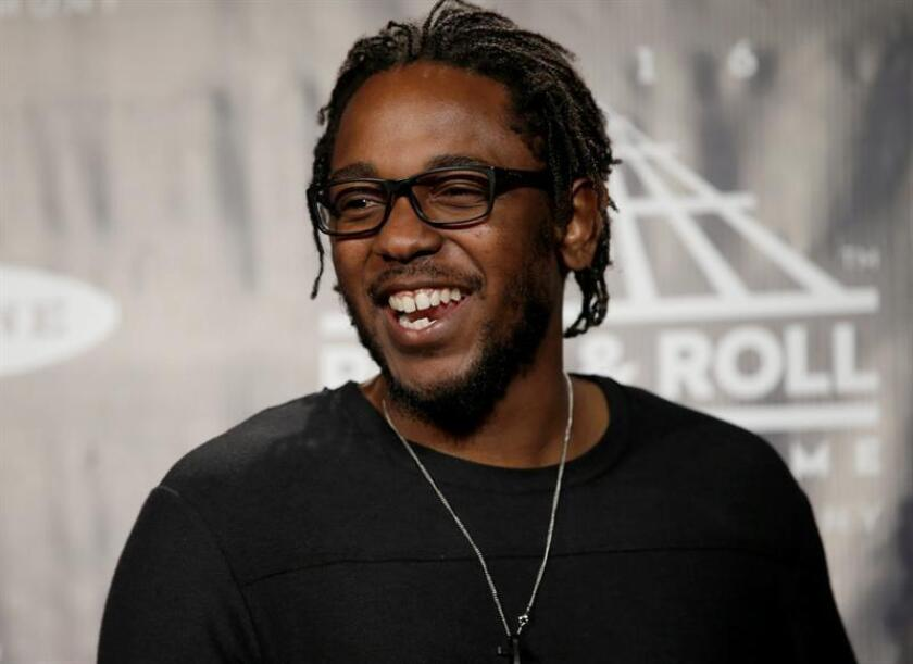 Fotografía del rapero estadounidense Kendrick Lamar. EFE/EPA/ARCHIVO