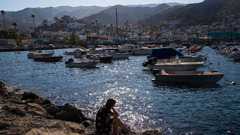 Scenes from Catalina Island.