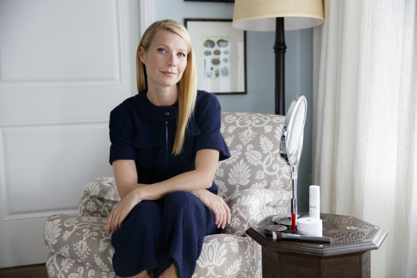 Gwyneth Paltrow's lifestyle site Goop is moving to Los Angeles