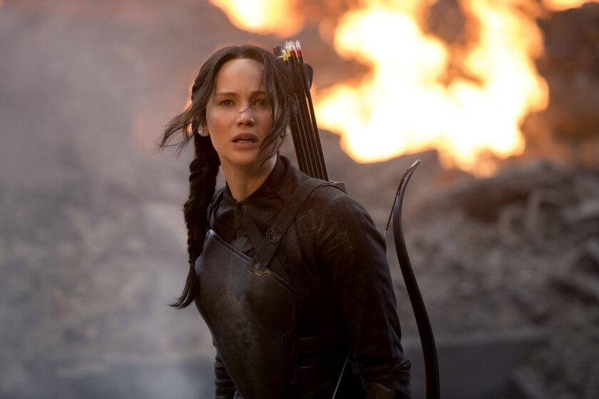 Scene from 'The Hunger Games: Mockingjay -- Part 1'